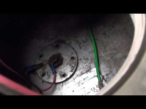 Cleaning the inside of fuel tanks on a boat that sat for 5 years