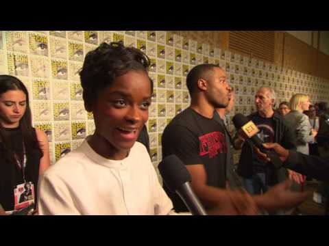 Download Youtube: Black Panther: Letitia Wright Comic-Con 2017 Movie Interview
