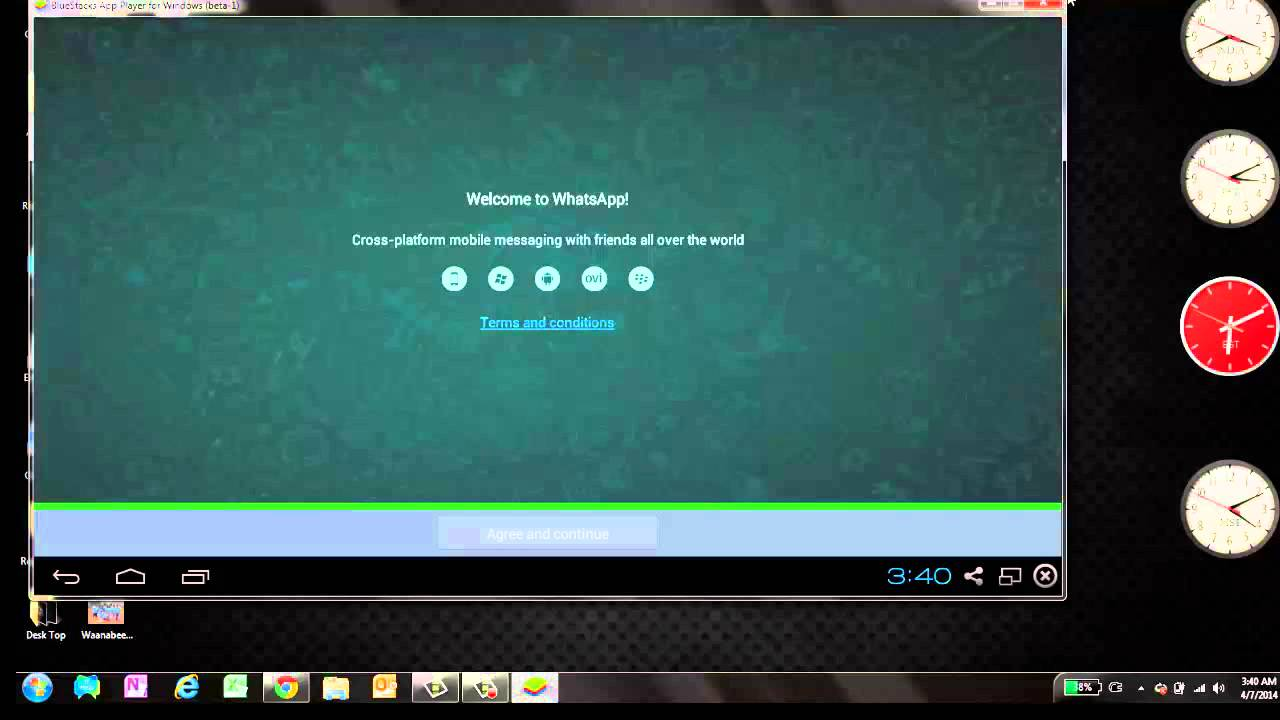 install whatsapp on laptop or desktop free and very easy method youtube