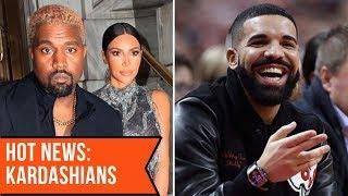 Kim Kardashian warns Drake to 'never THREATEN' Kanye West