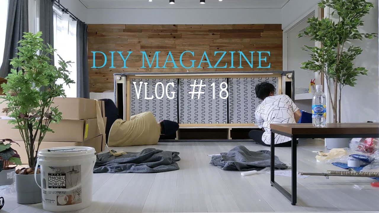 【Vlog】賃貸物件のDIYサポート 畑のスイカを収穫 田舎暮らしの日常