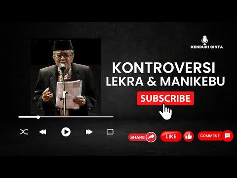 Cak Nun Terbaru  - Cak Nun dan Taufiq Ismail | Kontroversi Lekra dan Pramoedya adalah PKI