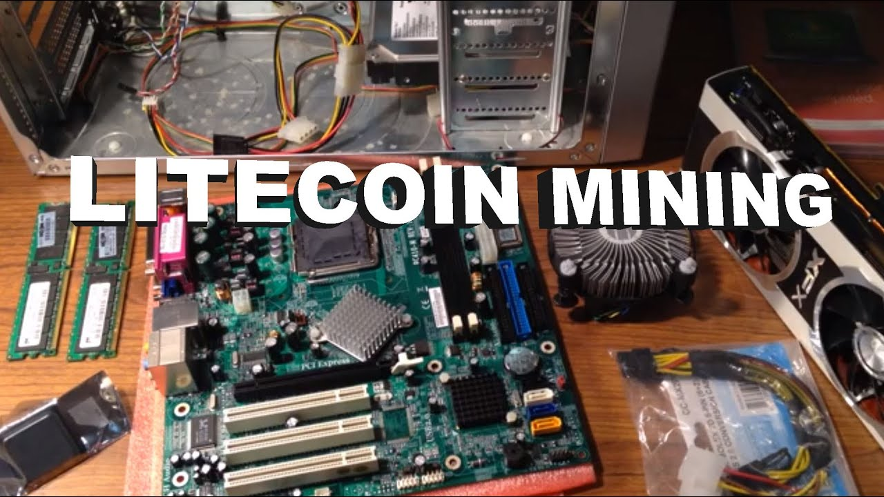 Litecoin mining getting started inexpensive rig about 100 cost youtube premium ccuart Choice Image