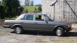 Ride Along in My Mercedes 240D 4-Speed: See Why I Named it OVERDRIVE!