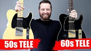 50s TELE vs 60s TELE! - What Are The Differences?