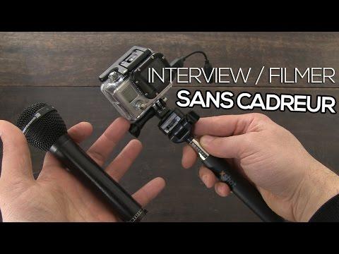 Filmer sans cadreur : interview, lancement, plateau