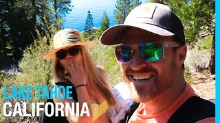 Video LAKE TAHOE | EMERALD BAY & CHIMNEY BEACH (TRAVEL VLOG 71) download MP3, 3GP, MP4, WEBM, AVI, FLV Oktober 2018