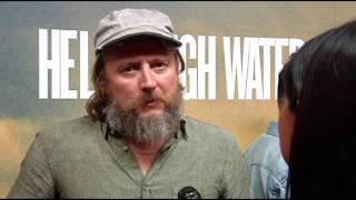 """David Mackenzie On """"Hell Or High Water"""" Red Carpet 