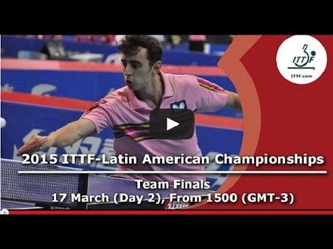 2015 ITTF Latin American Championships - Team Semi Finals and Finals