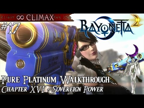 「Bayonetta 2」 Pure Platinum Walkthrough #17 [∞ Climax] Chapter XVI: Sovereign Power