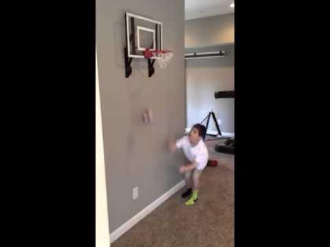 RAMgoal indoor mini basketball goal - YouTube
