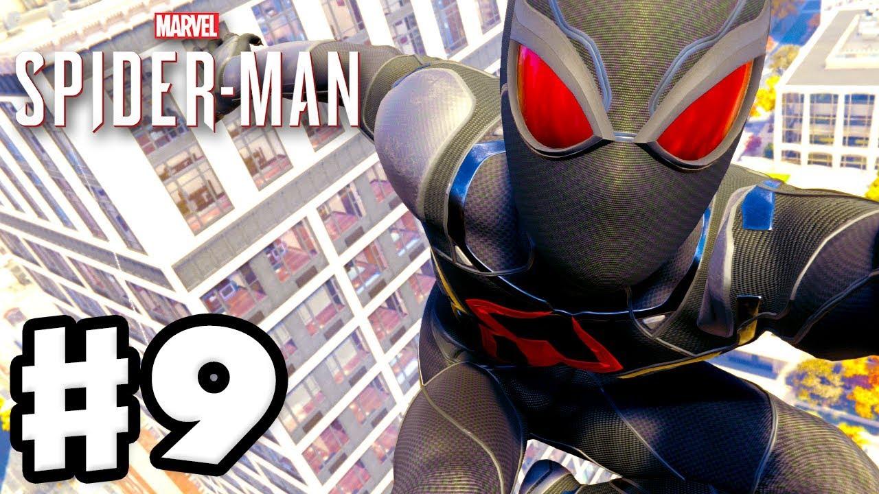 spider-man - ps4 gameplay walkthrough part 9 - all black cat