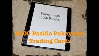 2000 Pukeymon Trading Card Set -- Complete! Trading Card Sets --