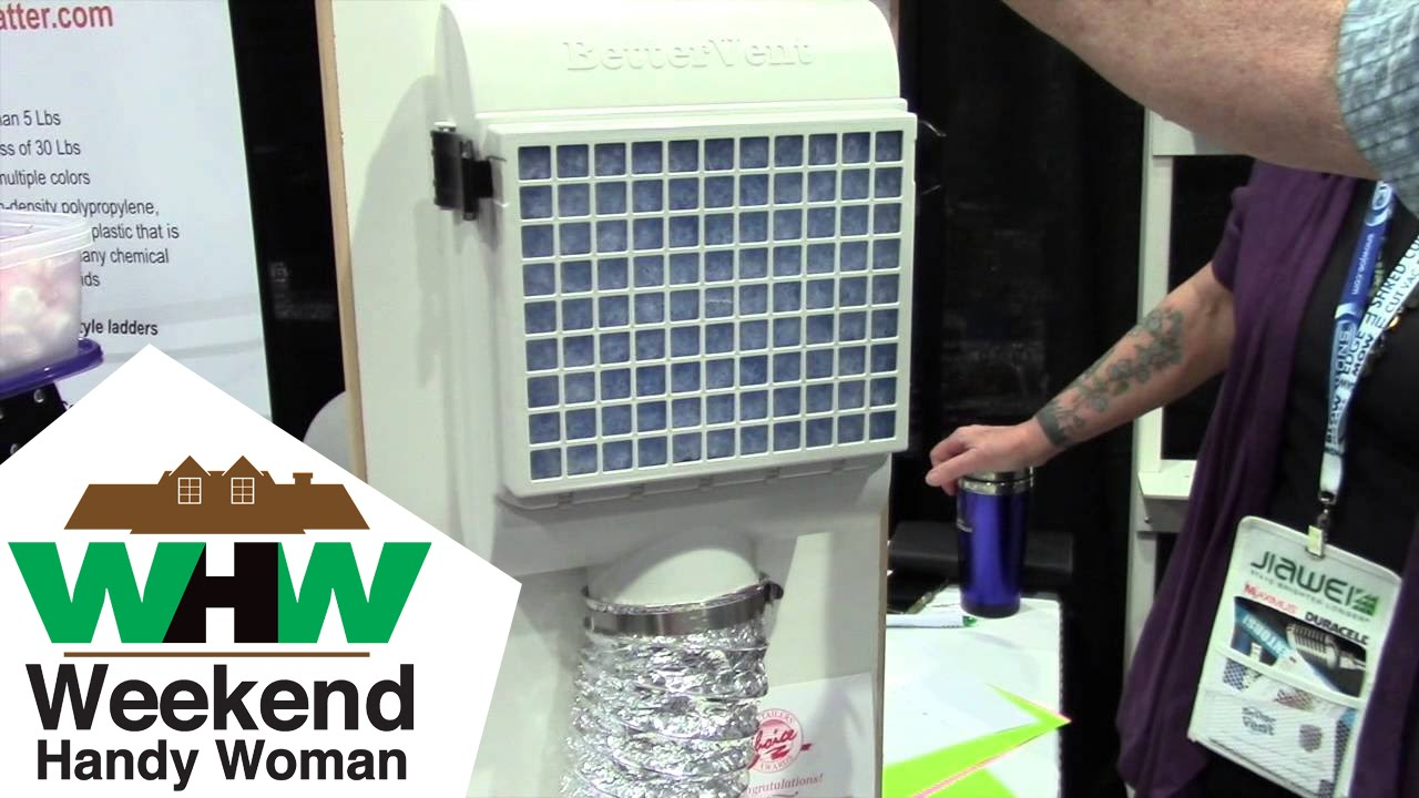 Perfect #BetterVent Clothes Dryer Vent System: By Lori Young Of The Weekend Handy  Woman   YouTube