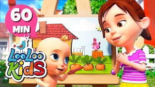 Drawing Song - Educational Songs for Children | LooLoo Kids