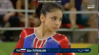 Seda Tutkhalian RUS Qual Fx Olympics Rio 2016