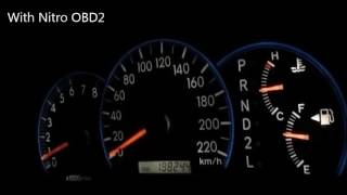 record 7 2zz ge in toyota altis before after install nitro obd2