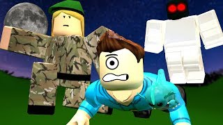 WENT TO A HAUNTED BOOT CAMP IN ROBLOX! | MicroGuardian