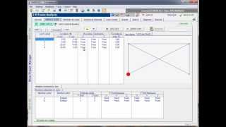 ENERCALC - 2D Frame - Video 3 : Boundary Restraints and Member End Conditions