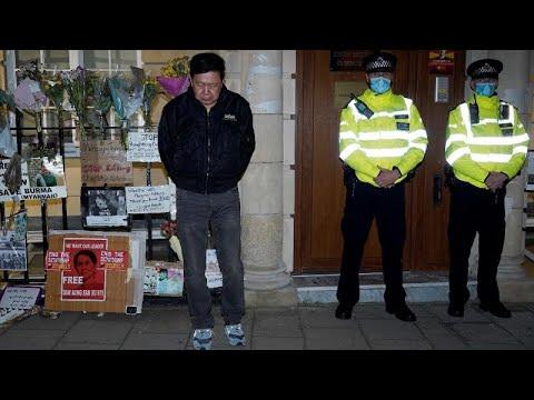 Myanmar: ambasciata di Londra occupata dai uomini vicini alla giunta birmana