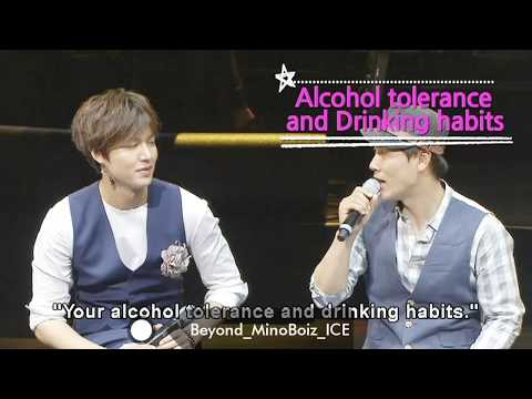"""20130525【OFFICIAL/ENG】Lee Min Ho's Drinking Habit And Favorite Song - """"My Everything Tour In Seoul"""""""