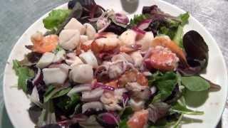Marinated Seafood Salad - Century House, Peabody, Ma