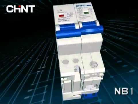 NB1 монтаж расцепителя минимального напряжения V9