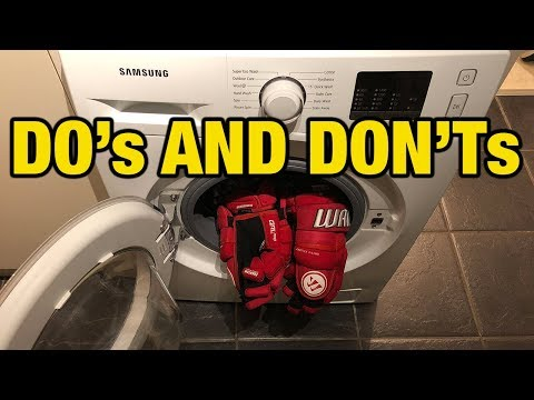 How to clean hockey gloves without ruining palms - do's and don'ts of washing