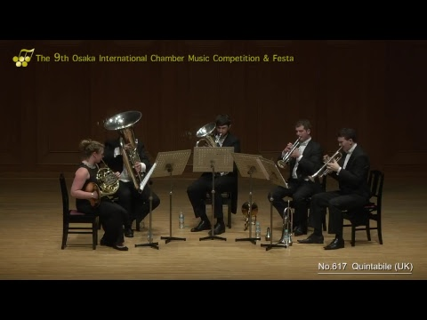 9th Osaka International Chamber Competition: Apex Brass & Quintabile