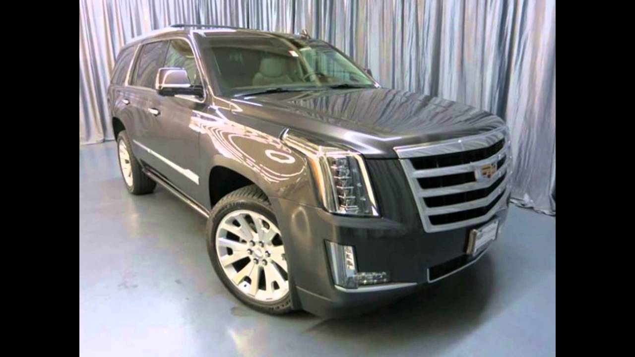 2016 Cadillac Escalade Dark Granite Metallic Youtube