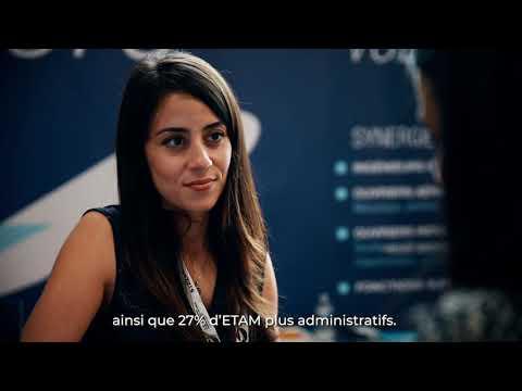 Synegrie.aero au Bourget 2019 | le marché de l'emploi aéronautique