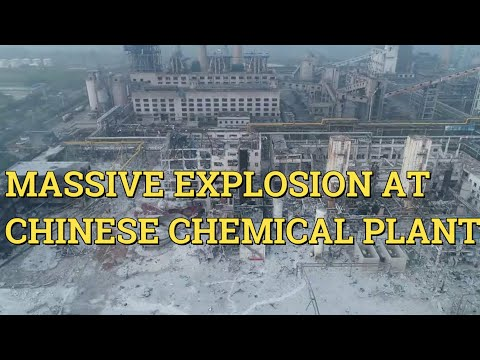 Massive explosion at Chinese chemical plant