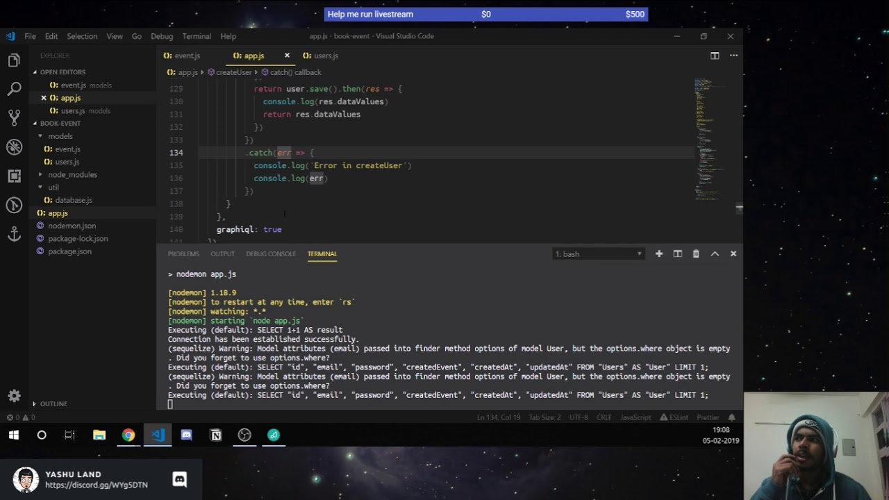 Learning graphql + sequelize with Node js (Part: 5) | Coding