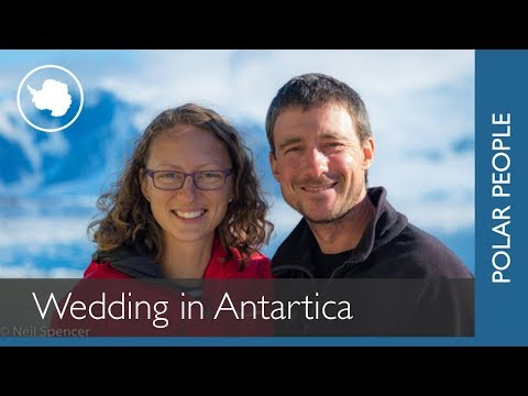 First wedding at British Antarctic Survey Research Station in Antarctica