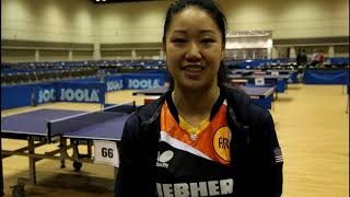 US Olympians Call on Females to Join Table Tennis and Sport!