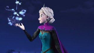 Elsa Frozen - luis fonsi demi lovato - échame la culpa