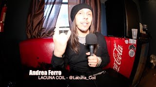 """LACUNA COIL: Andrea Ferro on NEW Album, NEW Lineup & Controversy Behind """"Hottest"""" Chicks Tour!"""