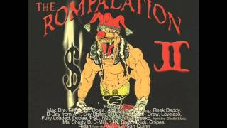 Crestside Throw - Los, Mac Dre, Reek Daddy & Snipes [ The Rompalation #2, An Overdose ] --((HQ))--