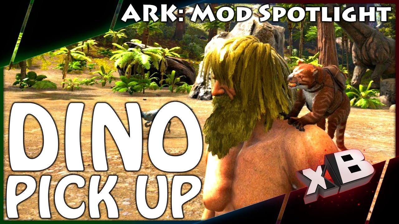 ark how to get dino off shoulder