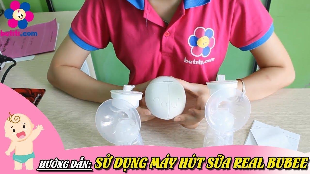 Hướng Dẫn Sử Dụng Máy Hút Sữa Real Bubee – Betiti.Com