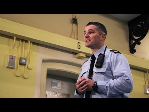 What does it take to be a prison officer?