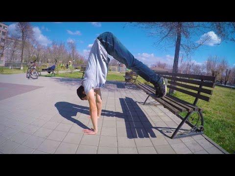 Ձեռքերի վրա կանգնել / ինչպե՞ս սովորել (Workout Academy Armenia)
