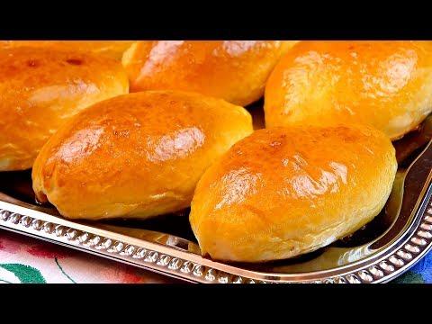 Пирожки в духовке с зеленым луком и яйцом! Рецепт сдобного дрожжевого теста для несладкой выпечки!