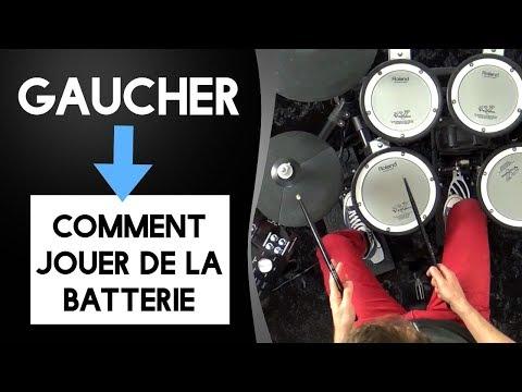 Gaucher : Comment jouer de la batterie ?
