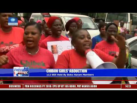 Chibok Girls' Abduction: BBOG Campaigners Hold 5th Anniversary Rally In Lagos