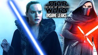 INSANE The Rise Of Skywalker Leaks WARNING Spoilers! (Star Wars Episode 9)