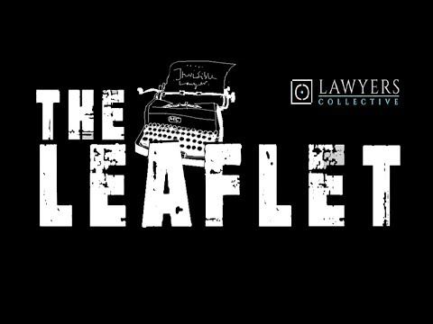 Introduction to The Leaflet: An Imprint of Lawyers Collective
