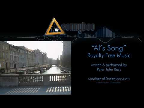 SONNYBOO's Royalty Free Music - Al's Song (instrumental) by Peter John Ross