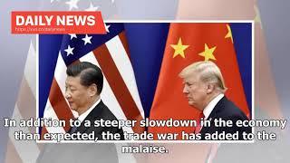 Daily News - Chinas Economic Growth Suffers Amid Trade War | PYMNTS.com