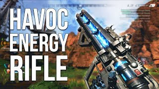 Havoc Energy Rifle! NEW Weapon in Apex Legends!